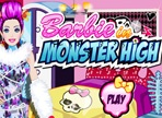 Barbie Monster High Dress Up