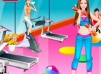 Barbie at the Gym Dress Up
