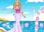 Glam Barbie Bride Dress Up